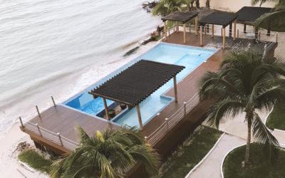 Mantenimiento Deck en la Playa